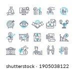 financial management outline... | Shutterstock .eps vector #1905038122