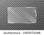 flat glass plate banners. set...   Shutterstock . vector #1905076288