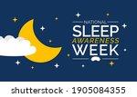 National Sleep Awareness Week...