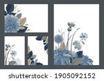 art floral greeting and... | Shutterstock .eps vector #1905092152