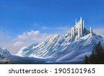 A Futuristic Castle In The...