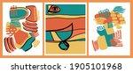 abstract shape illustration art ...   Shutterstock . vector #1905101968