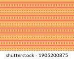orange pattern vector...   Shutterstock .eps vector #1905200875