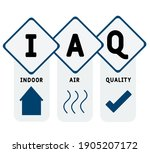 iaq   indoor air quality... | Shutterstock .eps vector #1905207172