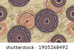 art round background with multi ...   Shutterstock . vector #1905268492