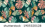 tropical seamless pattern with...   Shutterstock .eps vector #1905320128