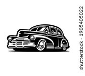 Hot Rod Vector   Silhouette Of...