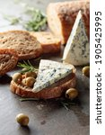 Blue Cheese With Green Olives ...