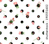 Polka Dot Seamless Pattern Wit...