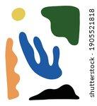 abstract mid century modern...   Shutterstock .eps vector #1905521818