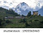 The Alpine Hut Schachenhaus...