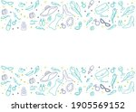 8 march greeting card template.... | Shutterstock .eps vector #1905569152