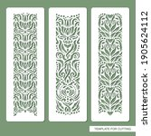 set of decorative seamless... | Shutterstock .eps vector #1905624112