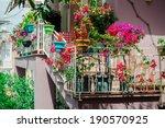 Flowers On Balcony. Photo Taken ...