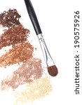 crushed eyeshadow and... | Shutterstock . vector #190575926