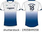 sports jersey t shirt design...   Shutterstock .eps vector #1905849058