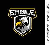 Eagle Mascot Logo Design...
