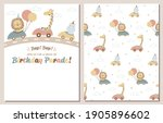 drive by birthday party... | Shutterstock .eps vector #1905896602