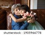 Close Up Little Granddaughter...