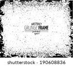 grunge frame set. vector...   Shutterstock .eps vector #190608836