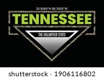 Tennessee.Vintage and typography design in vector illustration.Clothing,t-shirt,apparel and other uses.Eps10