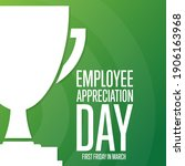 employee appreciation day....   Shutterstock .eps vector #1906163968
