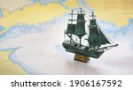 Vintage Scale Model Of The...