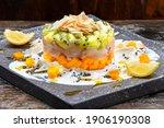 White Fish Tartare With Kiwi ...