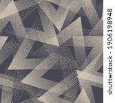 stippled texture trendy...   Shutterstock .eps vector #1906198948