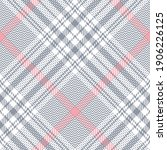 glen plaid pattern spring in... | Shutterstock .eps vector #1906226125