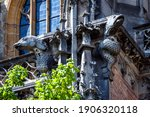 Gargoyles On Ulm Minster Or...