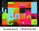 abstract vector horizontal... | Shutterstock .eps vector #1906326148