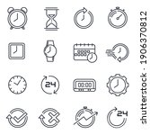 Simple Set Of Time Icon...