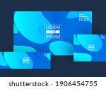 vector abstract design... | Shutterstock .eps vector #1906454755