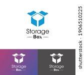 storage box logo design...   Shutterstock .eps vector #1906510225