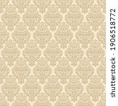 seamless pattern with luxurious ... | Shutterstock .eps vector #1906518772