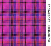 seamless pattern of scottish... | Shutterstock .eps vector #1906595728
