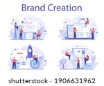 brand creation concept set.... | Shutterstock .eps vector #1906631962