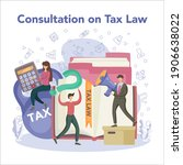 tax inspector. idea of...   Shutterstock .eps vector #1906638022