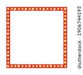 retro frame with light bulb....   Shutterstock .eps vector #1906744195