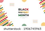 african american history or...   Shutterstock .eps vector #1906745965