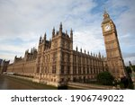Palace Of Westminster And Big...