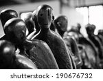 Death Walk Holocaust Sculpture...