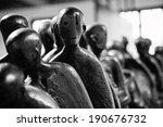 death walk holocaust sculpture... | Shutterstock . vector #190676732