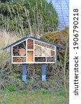 Bird House In The Grass