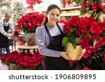 Friendly Female Flower Shop...