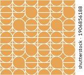 geometry minimalistic artwork... | Shutterstock .eps vector #1906856188