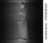 vector illustration of venus... | Shutterstock .eps vector #1906858165