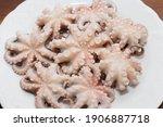 Boiled Webfoot Octopus Dish...