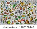 colorful vector hand drawn... | Shutterstock .eps vector #1906900462
